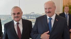 Артур Раси-заде и Александр Лукашенко