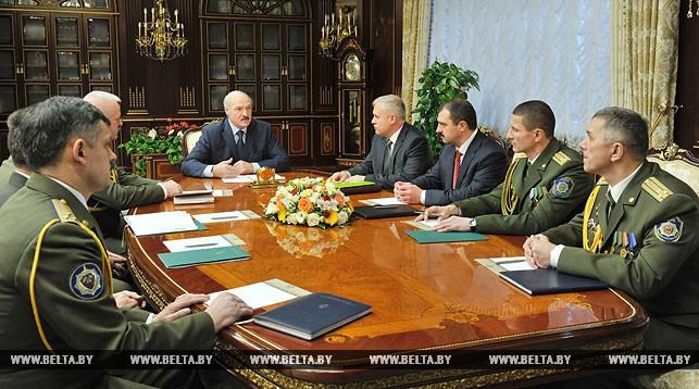 Во время назначения начальника Службы безопасности Президента