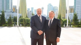 Александр Лукашенко и Нурсултан Назарбаев