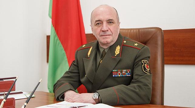 Игорь Демиденко. Фото Министерства обороны - БЕЛТА