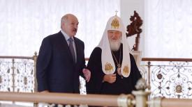 Александр Лукашенко и Патриарх Кирилл
