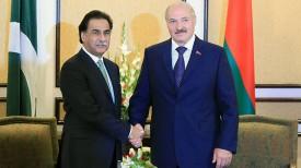 Сардар Садик и Александра Лукашенко