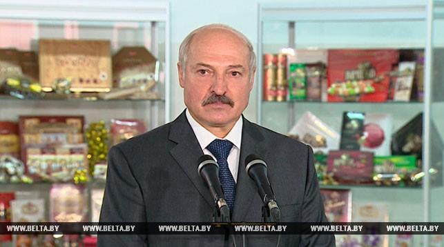 Александр Лукашенко в Гомеле