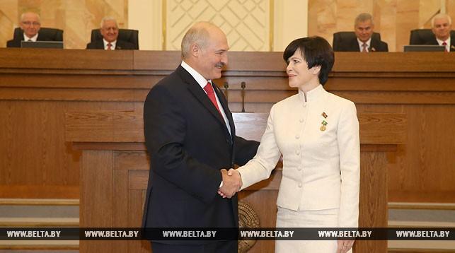 Александр Лукашенко и Светлана Сороко