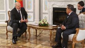 Александр Лукашенко и Пандикар Амин Мулиа
