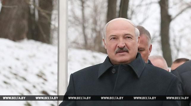 Александр Лукашенко в Могилеве