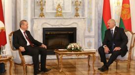 Реджеп Тайип Эрдоган и Александр Лукашенко