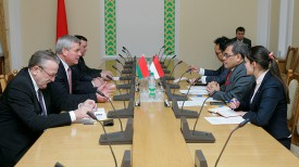 Во время встречи Владимира Андрейченко с Джаухари Оратмангуном