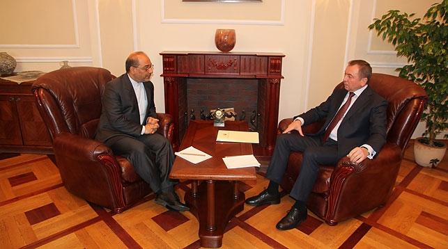Мохаммад Реза Сабури и Владимир Макей. Фото МИД