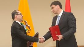 Карлос Ларреа Давила и Сергей Наливайко