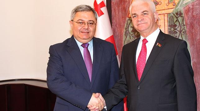 Давид Усупашвили и Виктор Гуминский