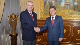 Во время встречи. Фото пресс-службы Посольства Республики Беларусь в Российской Федерации