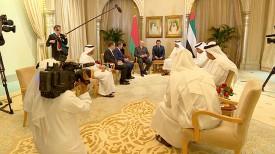 Во время встречи Александра Лукашенко и Мухаммеда бен Заида аль-Нахайяна