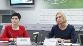 Ирина Криворощенко и Илона Ледницкая