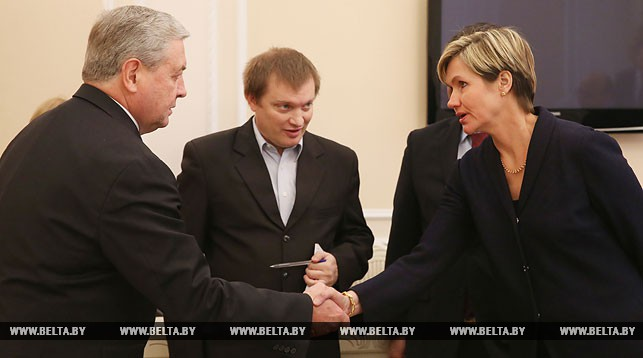 Владимир Семашко и Сату Кристина Кахконен