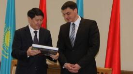 Ергали Булегенов и Сергей Наливайко