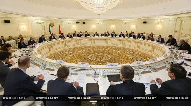 Заседание межправительственной белорусско-украинской смешанной комиссии по вопросам торгово-экономического сотрудничества