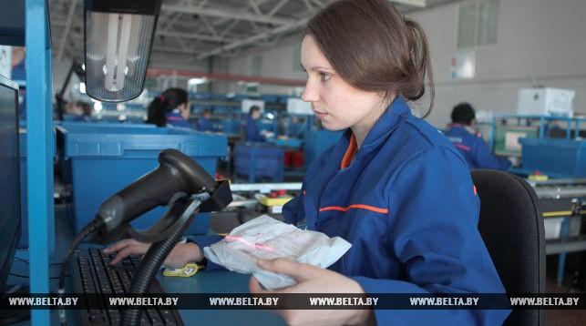 Сортировщица почты Нина Харловская