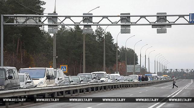 Поляки устранили сбой в оборудовании, ставший причиной очередей на границе с Беларусью