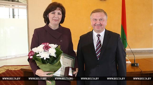 Наталья Кочанова и Андрей Кобяков