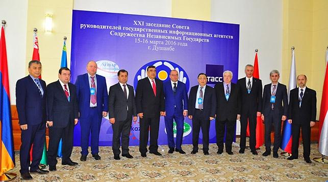 Руководители информационных агентств государств - участников СНГ