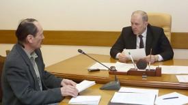 Игорь Арбузов обратился к председателю Гродненского облисполкома Владимиру Кравцову с вопросом по завышению платежей по ЖКХ