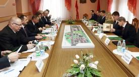 Во время встречи Юрия Сенько с Марианом Банасем