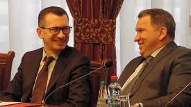 Евгений Баскин и Юрий Чиж