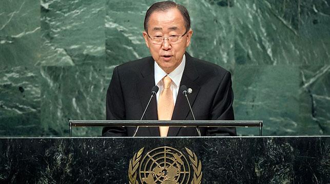 Пан Ги Мун. Фото Центр новостей ООН
