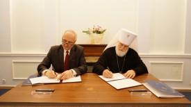 Борис Светлов и митрополит Павел