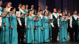 Концерт студенческого хора Белорусской государственной академии музыки