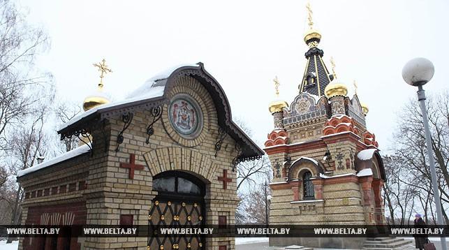 Часовни-усыпальницы семьи Паскевичей Гомельского дворцово-паркового ансамбля
