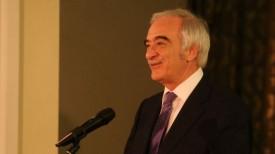 Полад Бюльбюль оглы на церемонии вручения премии в Минске