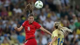 Во время матча Германия - Швеция. Фото Синьхуа - БЕЛТА
