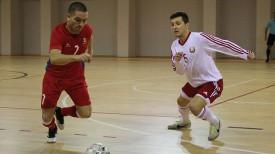 Во время матча Молдова - Беларусь. Фото Белорусской федерации мини-футбола
