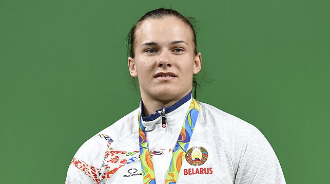 Дарья Наумова. Фото Синьхуа - БЕЛТА