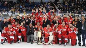 Победители XII Рождественского международного турнира среди любителей хоккея