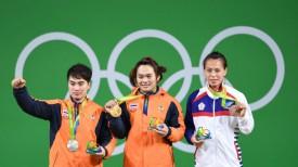 Пимсири Сирикаев, Суканя Срисурат, Син Чун Куо. Фото Синьхуа - БЕЛТА.