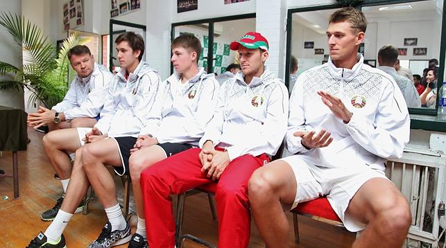 Сборная Беларуси. Фото Белорусской федерации тенниса