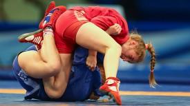 Финальный поединок в весовой категории 56 кг. Кристина Казаной против Елизаветы Рассановой