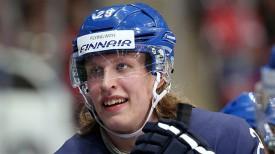 Патрик Лайне. Фото IIHF