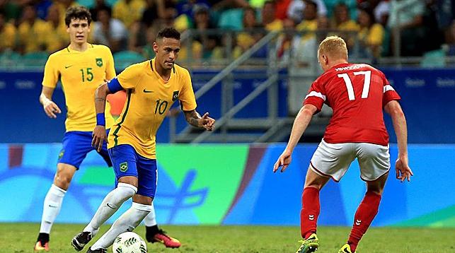 Во время матча Бразилия - Дания. Фото официального сайта Игр