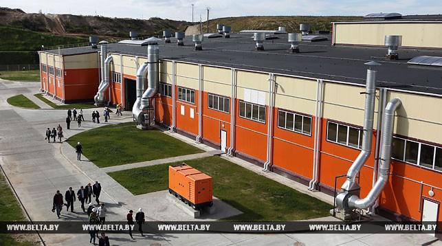 Мусоросортировочный завод в Гродно
