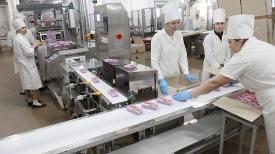 Новая линия по производству вафельных изделий