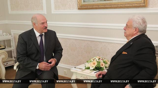 Александр Лукашенко и и Михаил Гусман