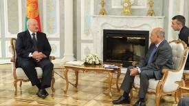Александр Лукашенко и Сума Чакрабарти