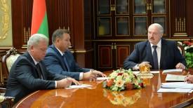 Валерий Колесник, Андрей Худык и Александр Лукашенко