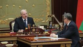 Александр Лукашенко и Владимир Зиновский