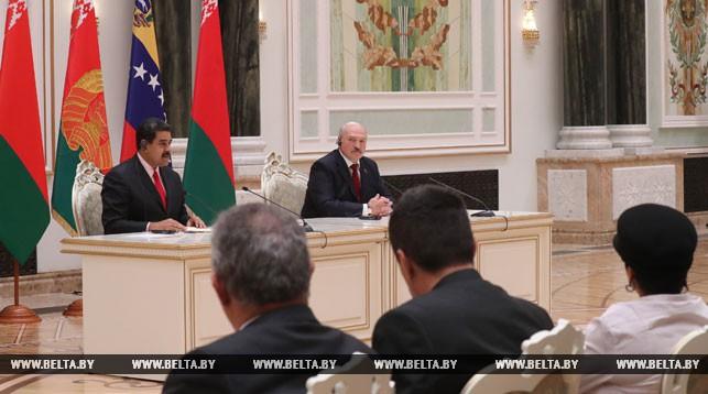 Николас Мадуро и Александр Лукашенко