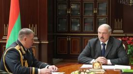 Сергей Дорошко и Александр Лукашенко